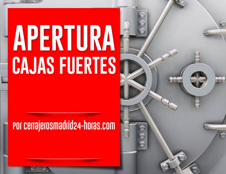 apertura cajas fuertes Madrid