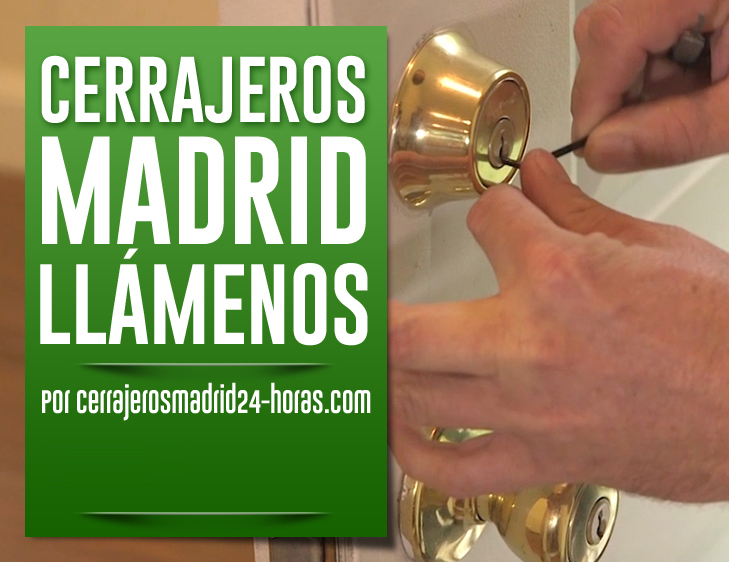 telefonos cerrajeros Madrid 24 horas