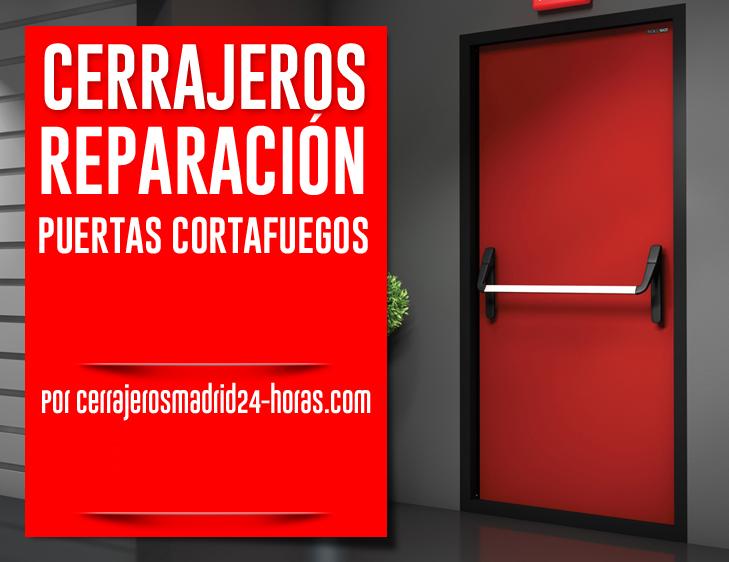 Instalación de puertas cortafuegos madrid